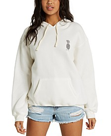 Juniors' Pineapple Graphic Hoodie