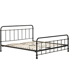 Renaud Metal Bed - King, Quick Ship
