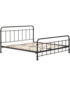 Renaud Metal Bed - King, Quick Ship