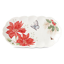 Lenox Butterfly Meadow Holiday Hors Doeuvres Tray, Created for Macys