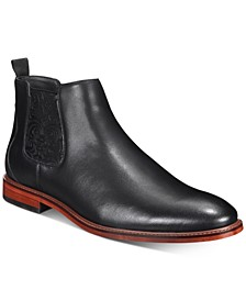 Men's Ricky Leather Chelsea Boots, Created for Macy's