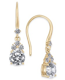 Danori Stone & Crystal Drop Earrings, Created for Macy's