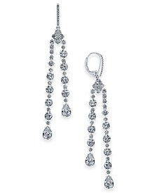 Danori Cubic Zirconia Dangle Drop Earrings, Created for Macy's
