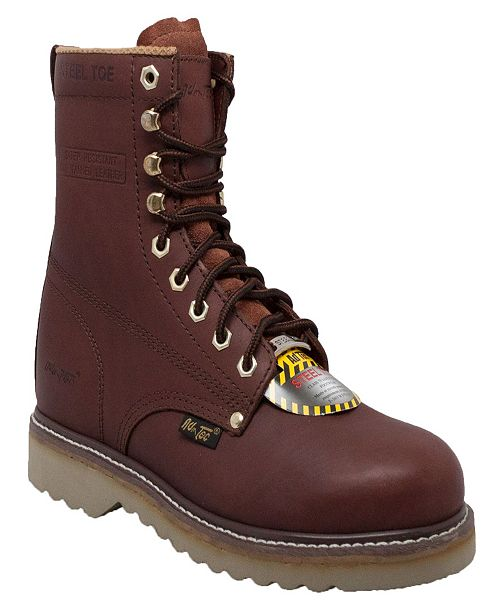 "AdTec Men's 8"" Steel Toe Farm Boot"