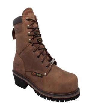 "Men's 9"" Steel Toe Super Logger Boot Men's Shoes"