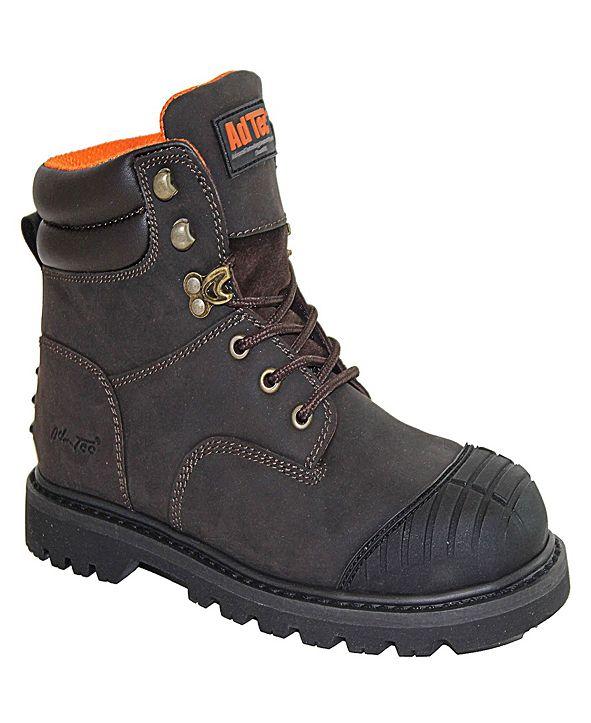 """AdTec Men's 6"""" Steel Toe Work Boot"""