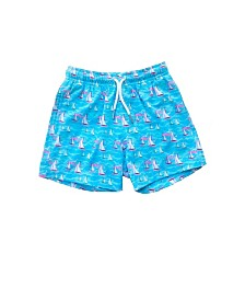 Bermies Kids Sail Away Swim-Trunks