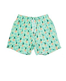 Bermies Kids Pineapple Vibes Swim-Trunks