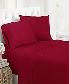 Ultra Soft Microfiber Double Brushed Blissful Dreams Full Sheet Set