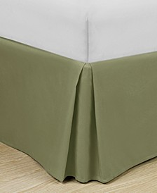 "Home Basic Easy Fit Microfiber Pleated 14"" Drop Queen Bedskirt"