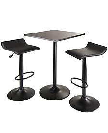 Obsidian 3-Piece Table Set