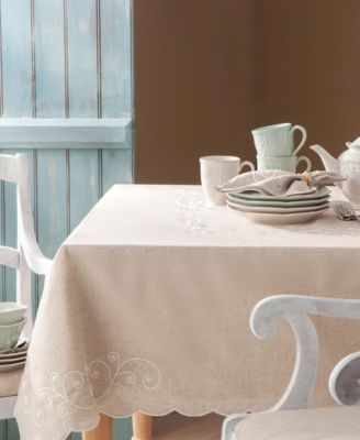 French Perle Embroidered 60