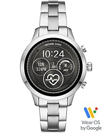 Access Unisex Runway Stainless Steel Bracelet Touchscreen Smart Watch 41mm, Powered by Wear OS by Google™