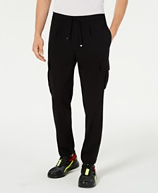 I.N.C. Men's Slim-Fit Drawstring Cargo Pants, Created for Macy's