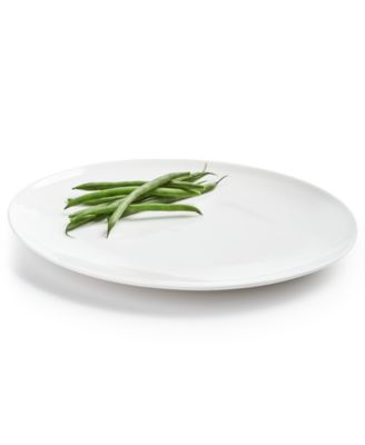 Oval Bone China Dinner Plate, Created For Macy's