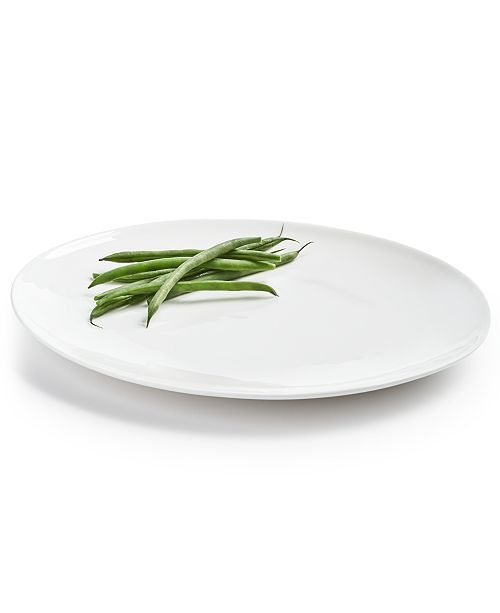 Hotel Collection Oval Bone China Dinner Plate, Created For Macy's
