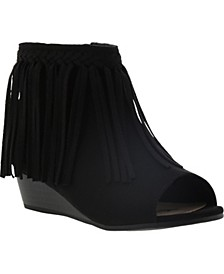 Little & Big Girls Kelley Fringe Wedge