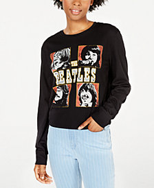Love Tribe Juniors' The Beatles Graphic T-Shirt