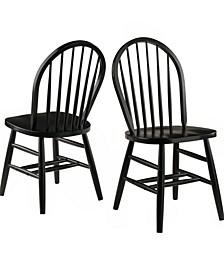 Windsor Chair 2-Piece Set