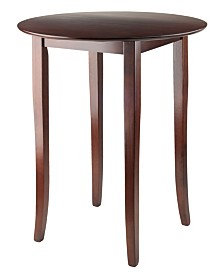 Winsome Wood Fiona Round High/Pub Table