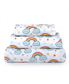 Tadpoles Kids Rule 3-Piece Twin Sheet Set