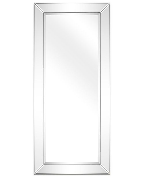 "Empire Art Direct Solid Wood Frame Covered with Beveled Clear Mirror Panels - 24"" x 54"""