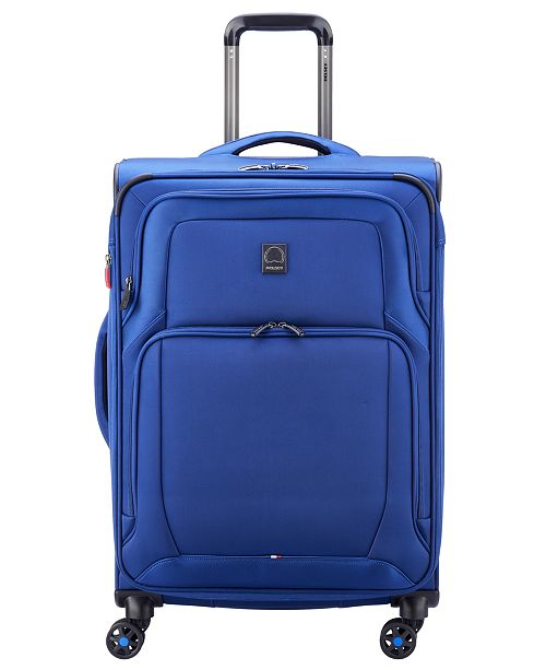 """Delsey OptiMax Lite 24"""" Expandable Spinner Suitcase"""