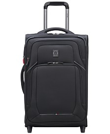 "Delsey OptiMax Lite 21"" Expandable 2-Wheel Carry-On Suitcase"