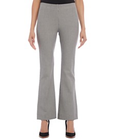 Karen Kane Avery Houndstooth-Check Bootcut Pants