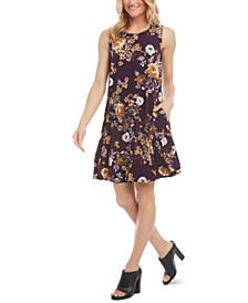 Chloe Floral-Print Swing Dress