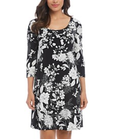 Karen Kane Erin Printed A-Line Dress