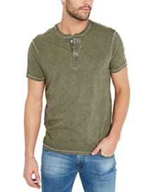 Buffalo David Bitton Men's Korip Knit Henley