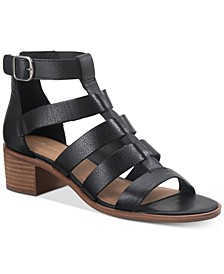 Sonia Gladiator Leather Sandals, Created for Macy's