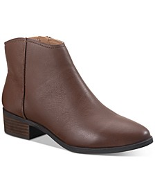 Jolene Leather Ankle Booties, Created for Macy's