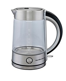 Modern 1.7-L Glass Kettle