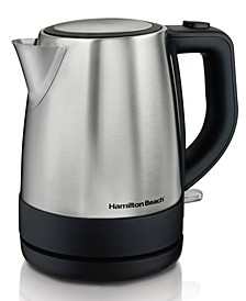 1.0-L Stainless Steel Electric Kettle
