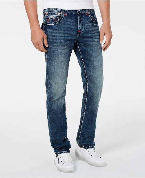 True Religion Men's Geno Flap Super T Jeans