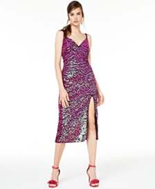 SHO Sequined Midi Dress