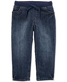 Carter's Toddler Boys Cotton Drawstring Jeans