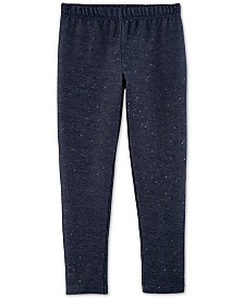 Carter's Little & Big Girls Sparkle Denim Leggings