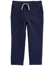 Carter's Toddler Boys Pull-On Fleece Pants