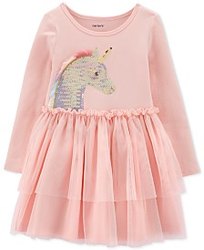 Carter's Toddler Girls Sequin Unicorn Tutu Dress