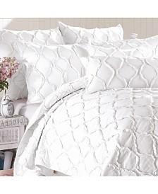 California Design Den Cotton 3-Piece Quilt Set, Full/Queen
