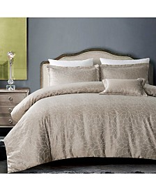 California Design Den 3-Piece Duvet Cover Set, Full/Queen