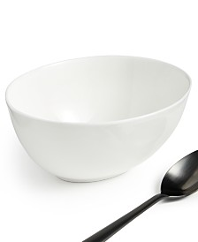 Hotel Collection Oval Bone China Cereal Bowl, Created For Macy's