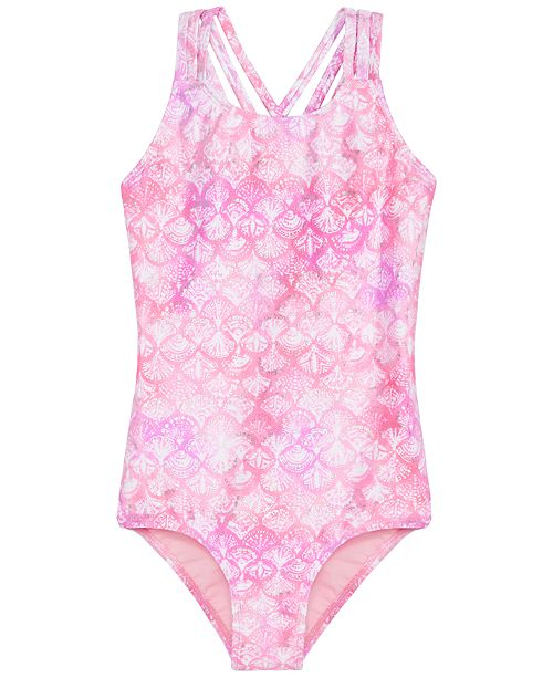 Summer Crush Big Girls 1-Pc. I'm A Mermaid Swimsuit
