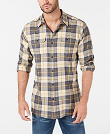 International Steve McQueen Men's Bill Plaid Shirt, Created For Macy's