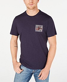 International Steve McQueen  Men's Flag T-Shirt, Created For Macy's