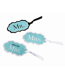Mr., Mrs. and More Mrs. Luggage Tags