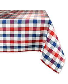 "Check Tablecloth 60"" x 84"""